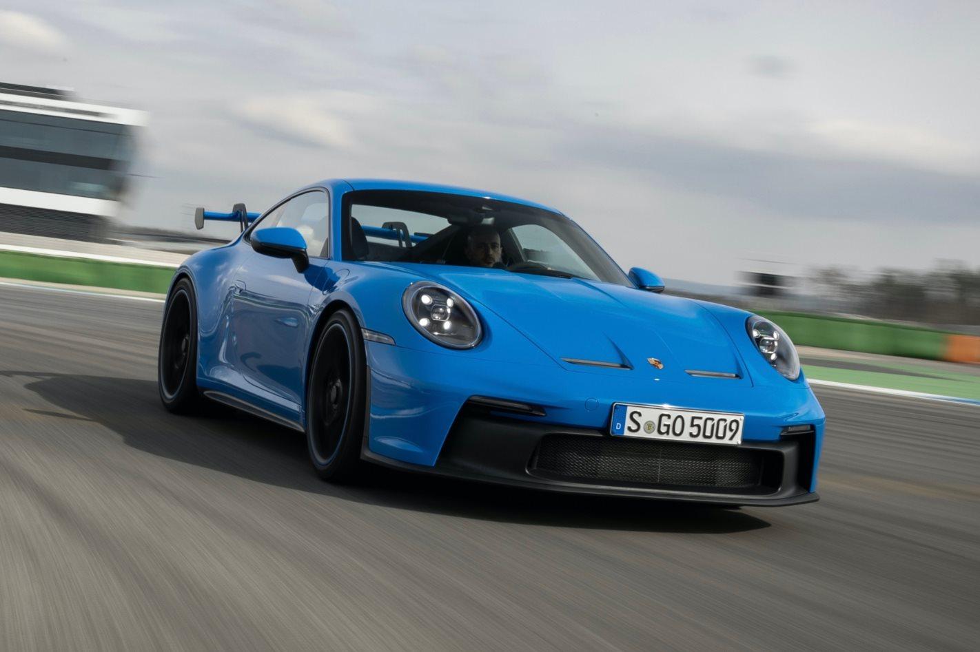 2021 Porsche 992911 GT3 test motore