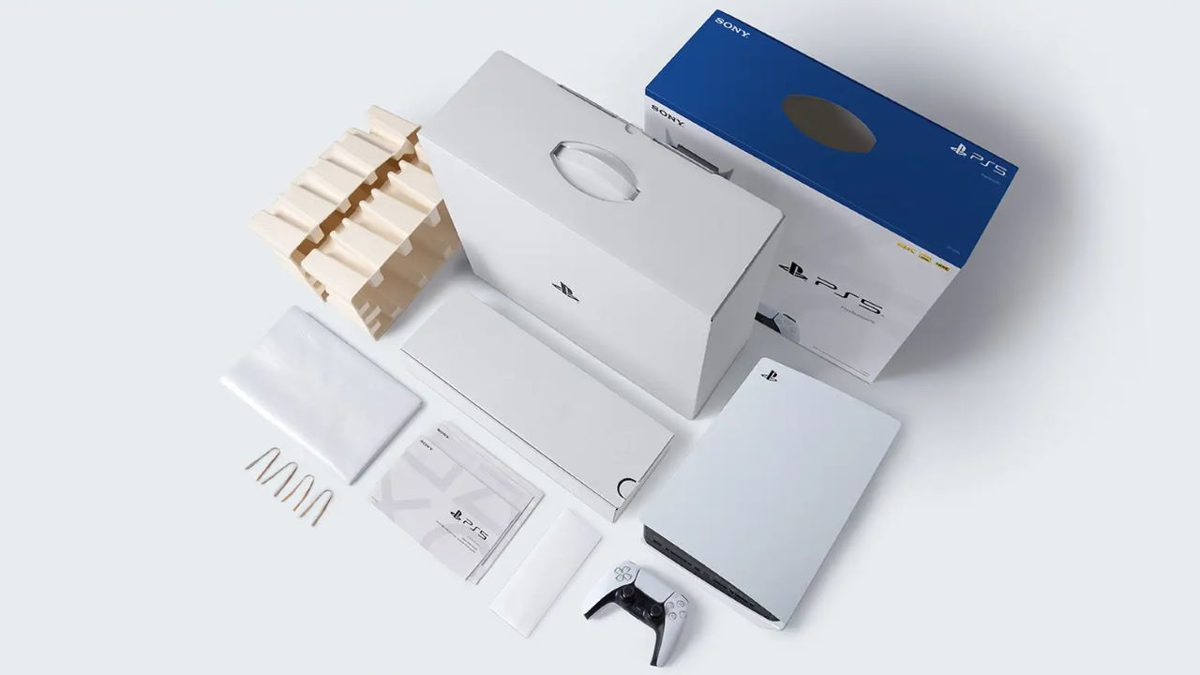 Sony afferma che la confezione della PS5 è completamente riciclabile