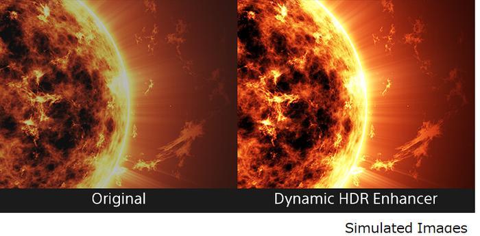 Entrambi i monitor sono dotati della tecnologia Dynamic HDR Enhancer per ottenere un migliore contrasto dinamico nelle immagini.