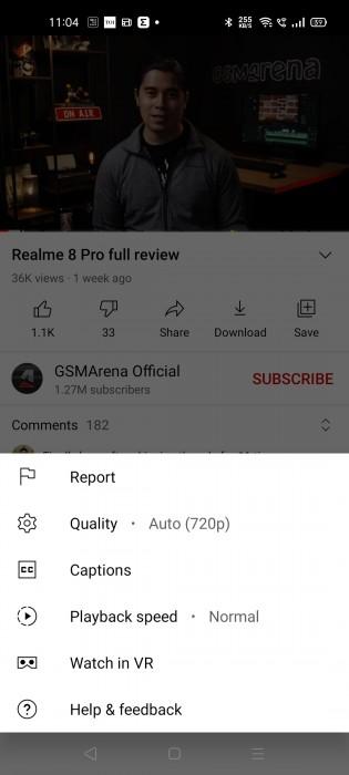 Nuove impostazioni di qualità video