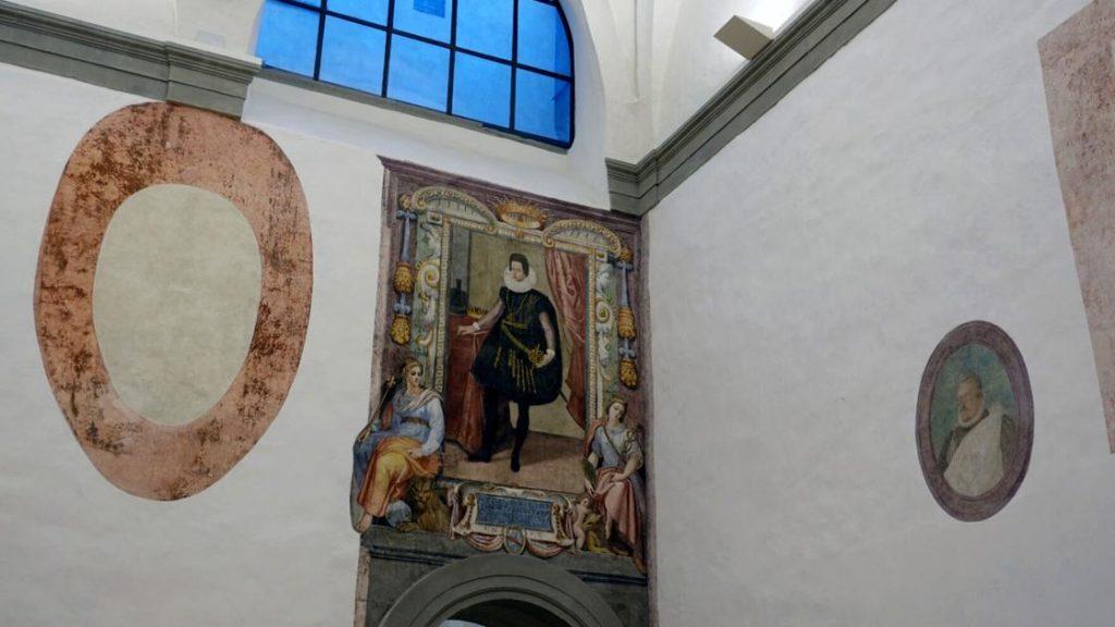 Uffizi italiani scoprono dipinti murali persi durante il blocco COVID |  divertimento