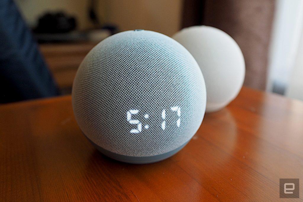 Amazon riduce il prezzo dell'ultimo Echo Dot a $ 30