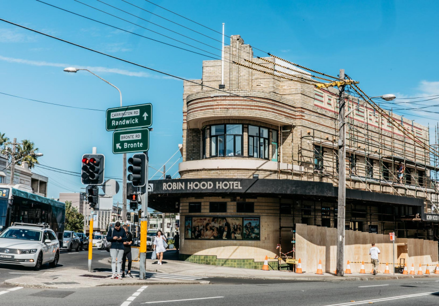 Il Robin Hood Hotel di Waverley viene rinnovato e il nuovo Lorraine Bistro di ispirazione europea