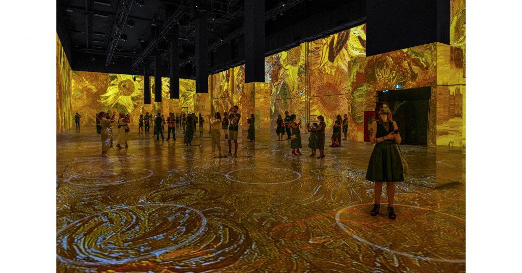"""""""Immersive Van Gogh"""", l'originale e coinvolgente celebrazione nordamericana dell'arte di Vincent Van Gogh, sarà presentato in anteprima il 10 giugno al Pier 36 di New York"""