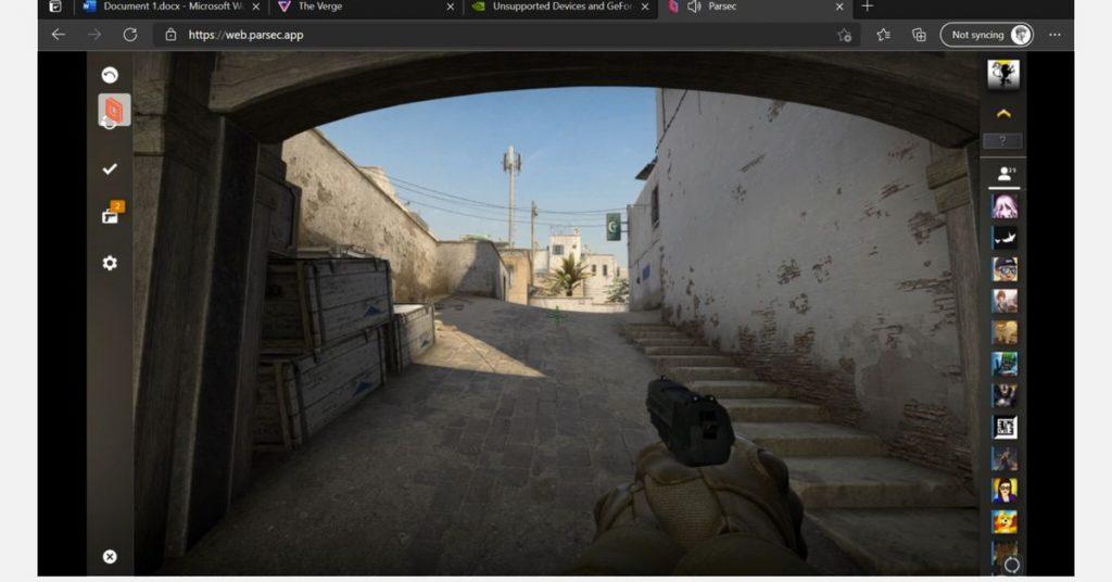 Un primo sguardo ai giochi Steam per PC su Xbox con mouse e tastiera