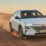 L'auto a idrogeno Hyundai Nexo stabilisce un record per la distanza da Melbourne a Broken Hill, ritorno su rimorchio