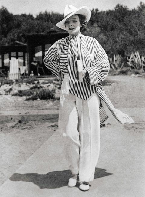 Marlene Dietrich du Cap Eden Rock Hotel