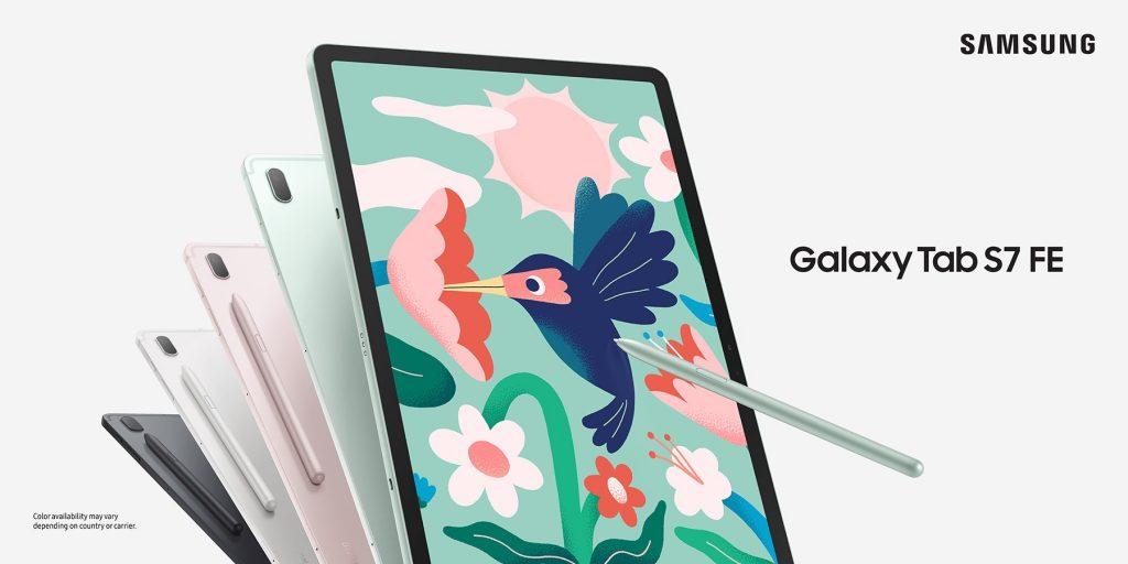 Samsung annuncia il nuovo budget per i tablet Galaxy Tab S7 FE e Galaxy Tab A7 Lite, »EFTM