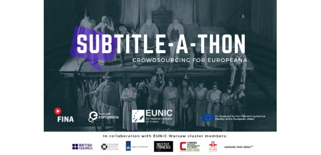 Europeana XX: Subtitle-a-thon Challenge Warsaw