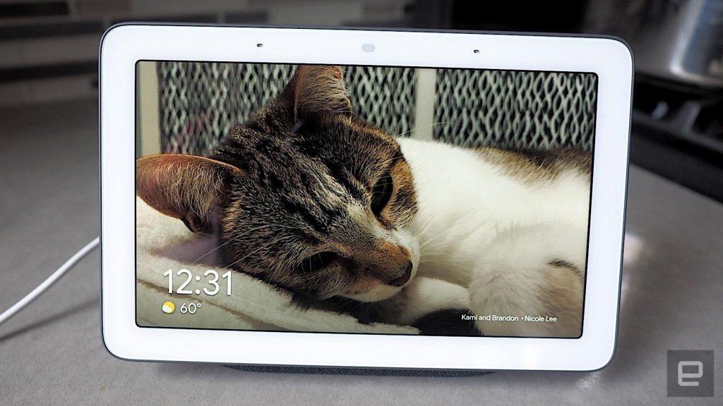 Il sistema operativo Fuchsia di Google ha debuttato sull'originale Nest Hub