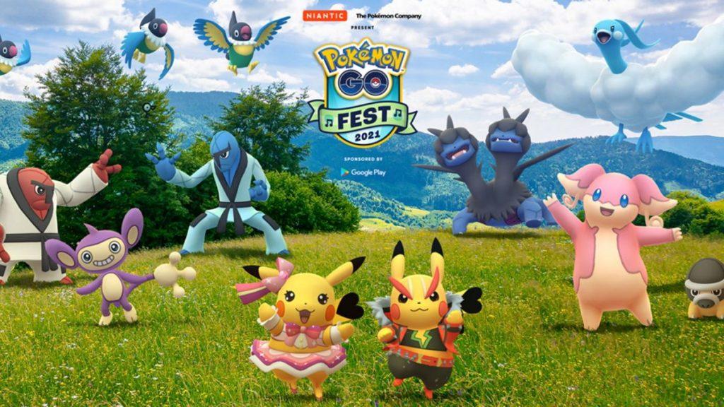 Le date, i prezzi dei biglietti e il tema del Pokemon Go Fest 2021 sono stati rivelati