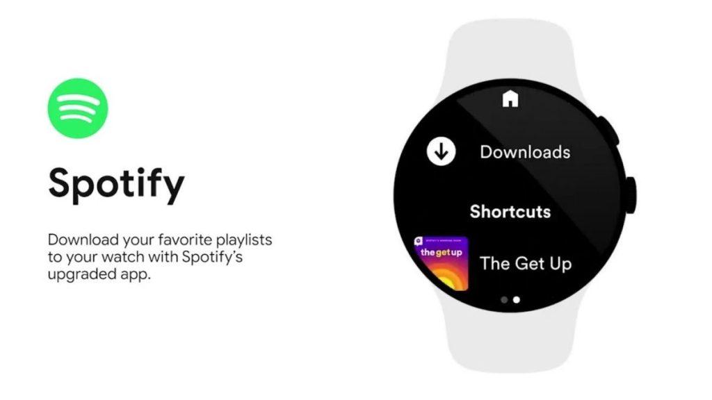 Spotify e YouTube Music ascoltano offline gli orologi Google Wear