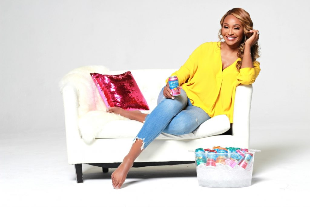 Cynthia Bailey, star di The Real Housewives of Atlanta, per Seagram's Escapes