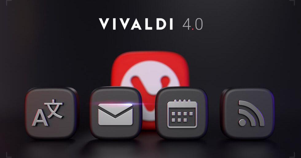 Vivaldi Browser ora ha un lettore di posta, calendario e RSS integrato