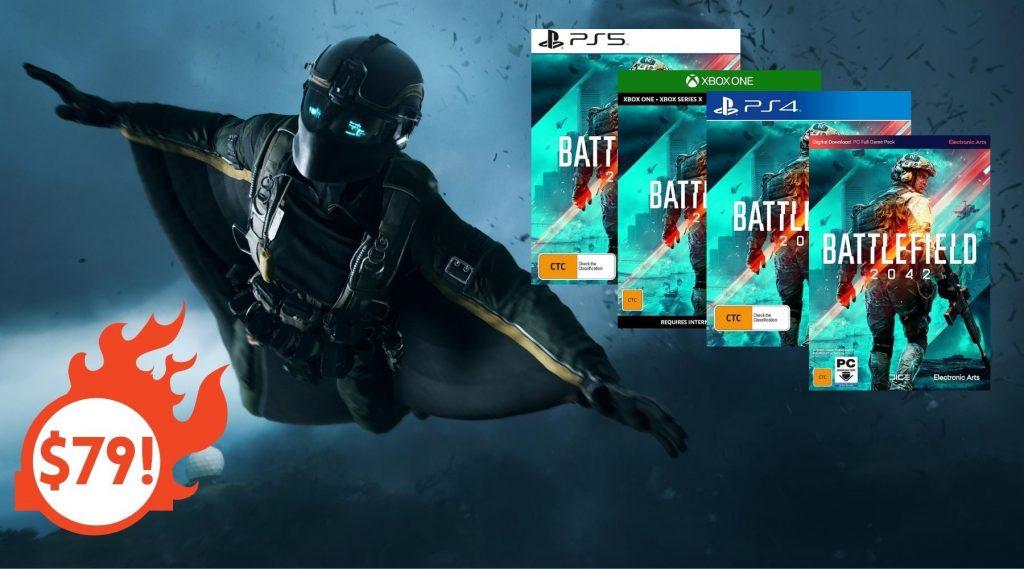 Le copie più economiche di Battlefield 2042 in Australia: PS4, PS5, Xbox, PC