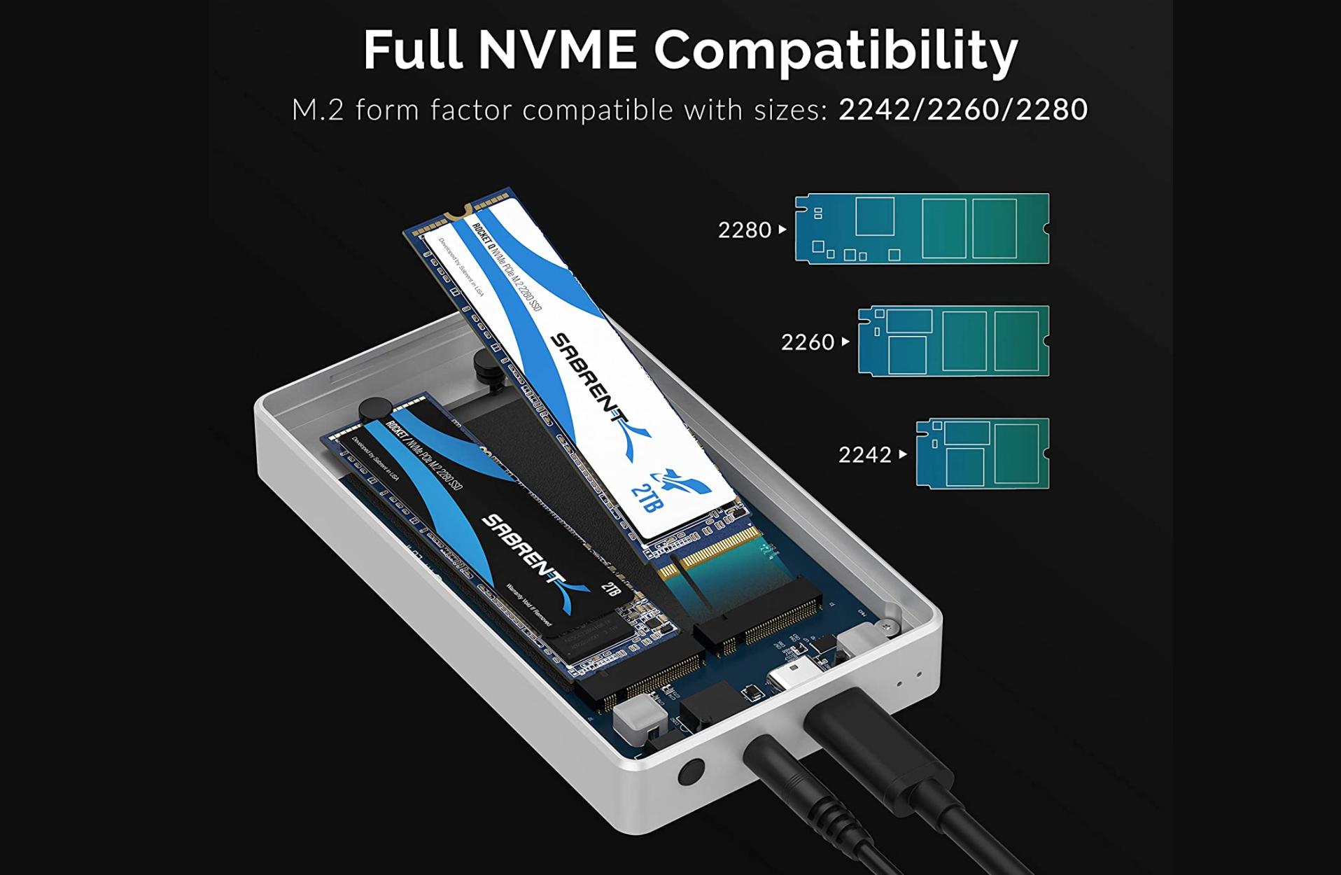 Prodotto con custodia SSD