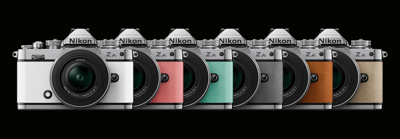 Nikon Z fc. opzioni di colore