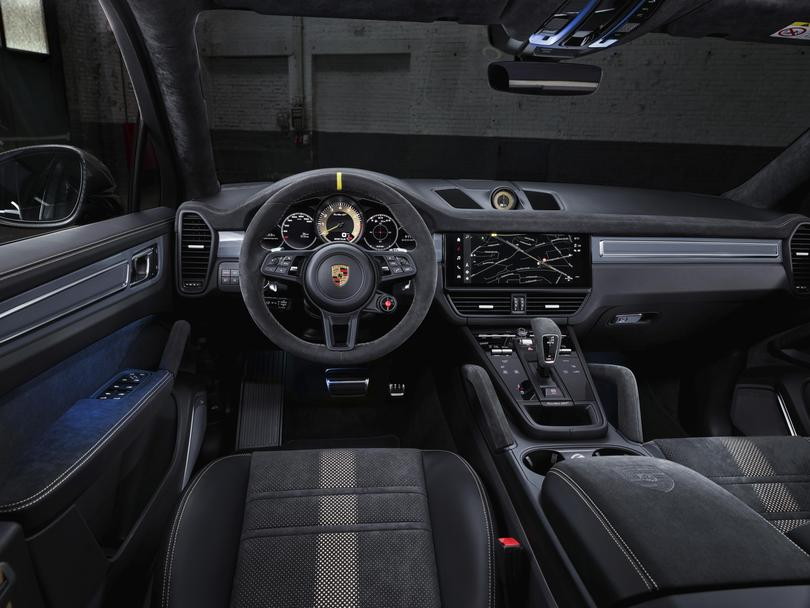 Porsche Cayenne Turbo GT.
