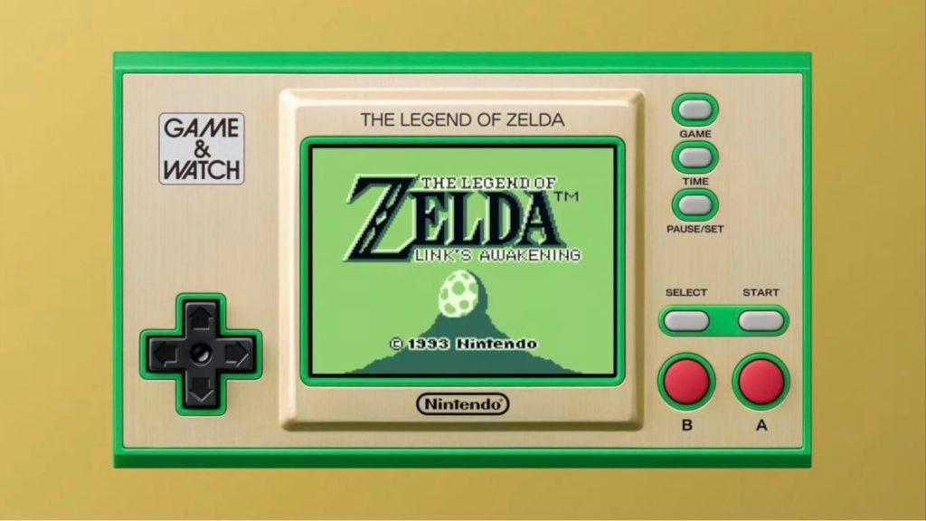 Il gioco mobile Zelda Game and Watch include i primi due giochi e Link's Awakening