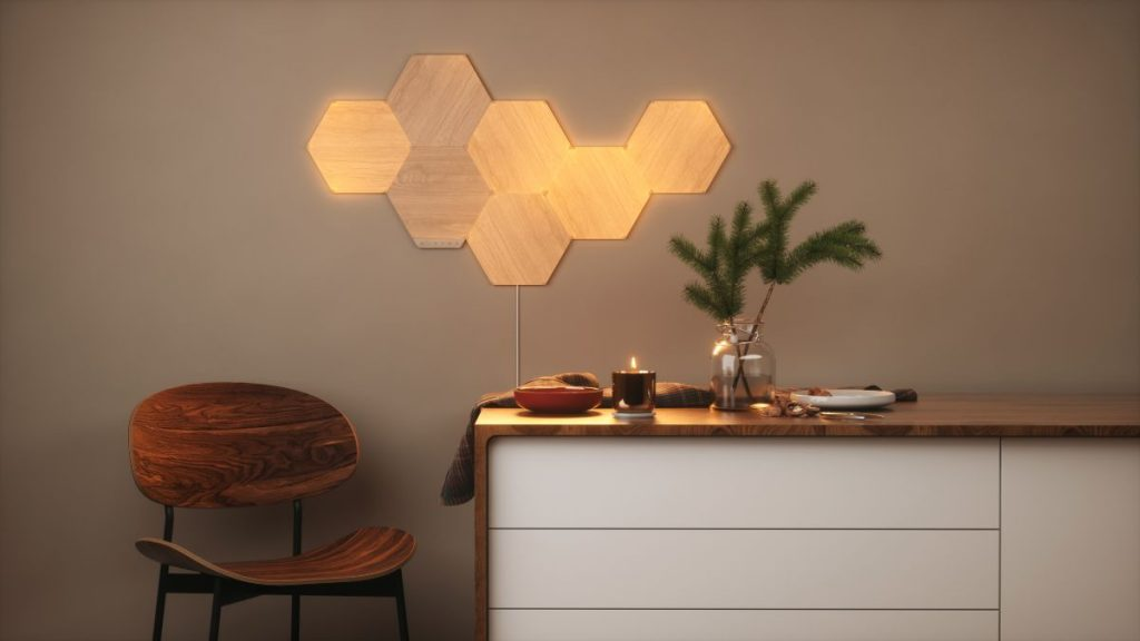Nanoleaf dona all'illuminazione intelligente un elegante aspetto simile al legno con una nuova collezione Elements