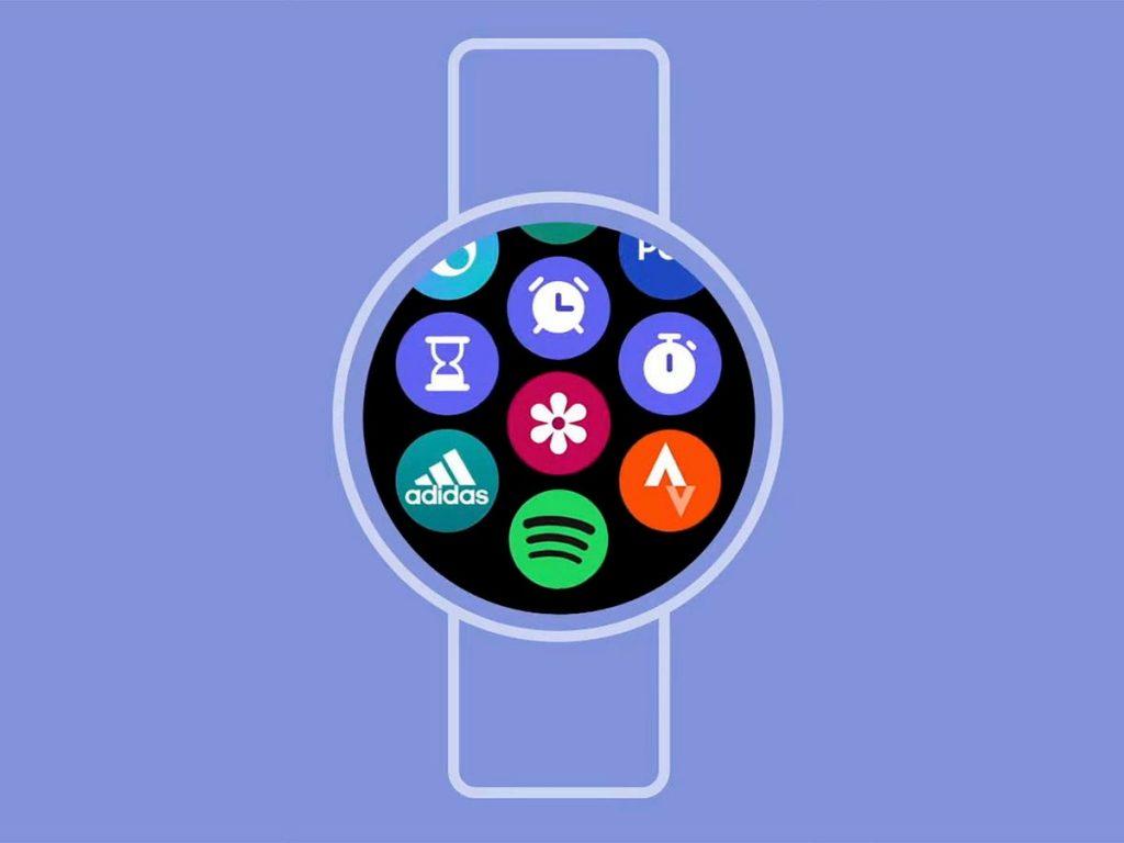 Samsung presenta l'interfaccia utente del software Galaxy Watch 4 One