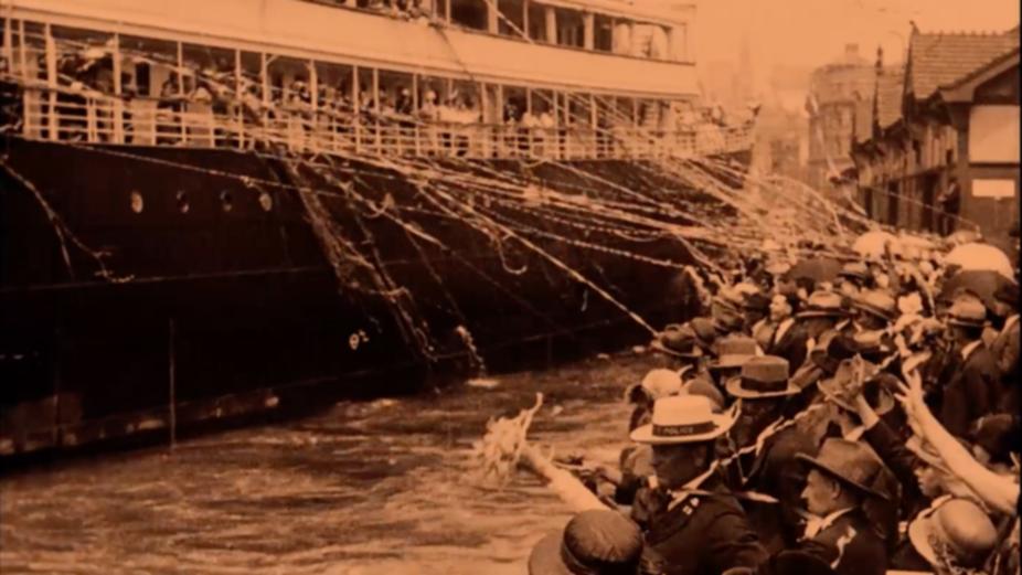 Il film muto del viaggio migratorio di un secolo fa ha ispirato Viola Dana a creare una clip audio