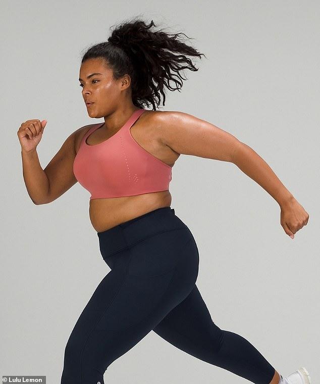 Questo reggiseno può supportare le donne con coppe da C a DDD durante l'esercizio