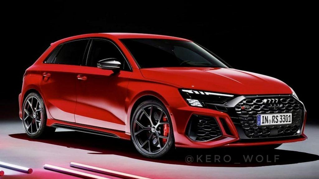 2022 Audi RS3 Sportback trapelata prima della sua presentazione