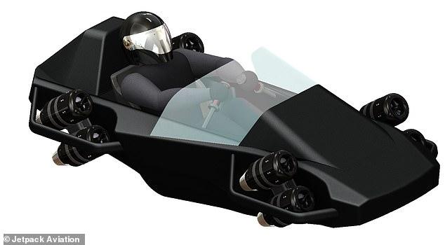 Mayman afferma che il suo obiettivo è rendere modulare lo Speeder, con diversi tipi di pneumatici e impostazioni di spinta per servire clienti diversi.  Nella foto: composizione