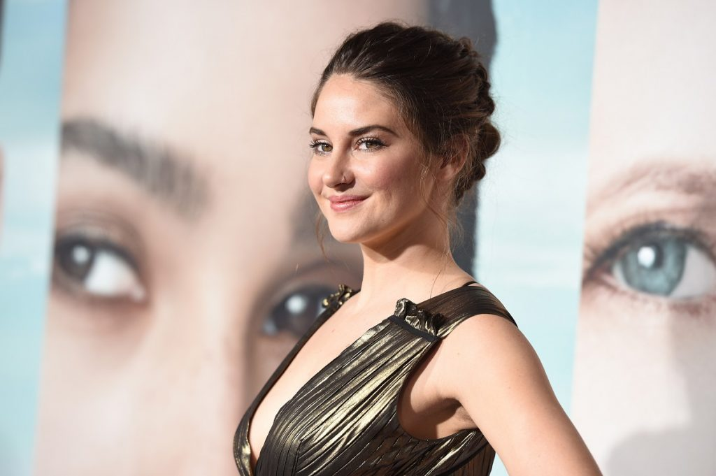Shailene Woodley attends the premiere of HBO