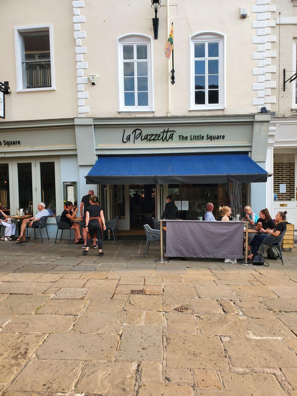 La Piazzetta a Shrewsbury