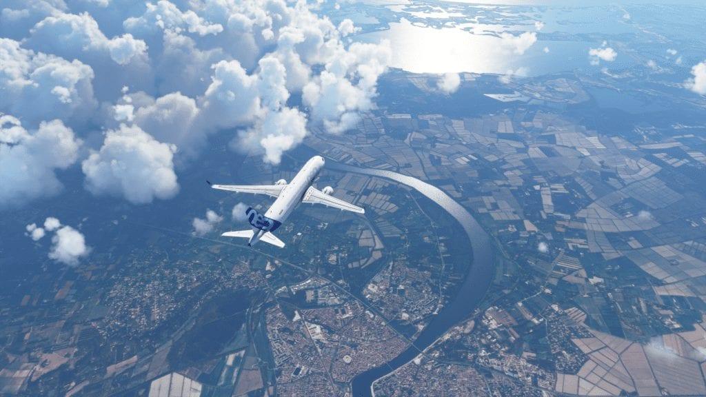 Simulatore di volo Microsoft