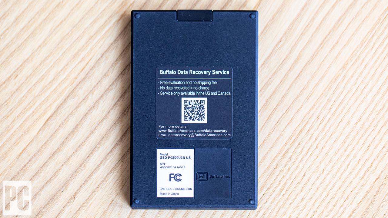 Buffalo SSD-PG SSD portatile inferiore