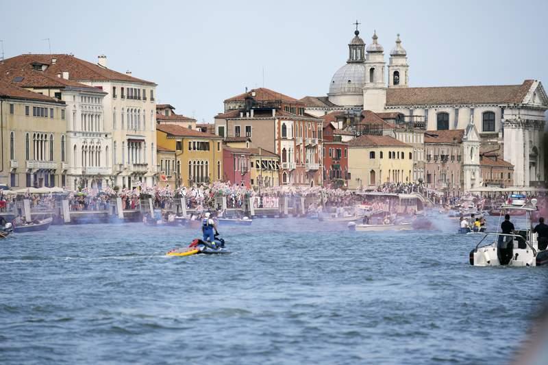 I pericoli di Venezia trasferiti nel sito del patrimonio mondiale dell'UNESCO in pericolo