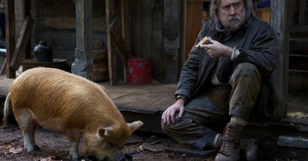 Il film 'Pig': quanto vale il maiale al tartufo di Nicolas Cage?