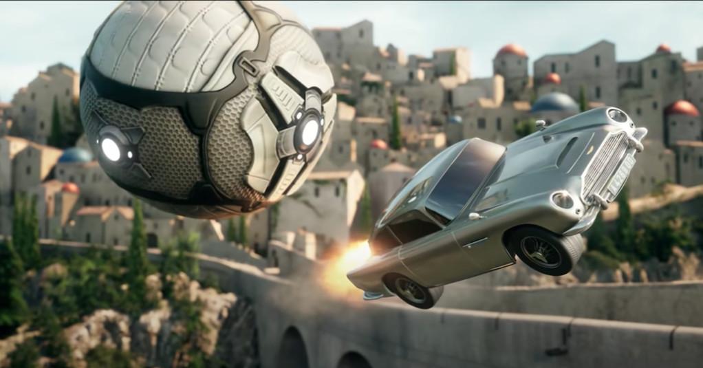 L'Aston Martin è arrivata da James Bond alla Rocket League