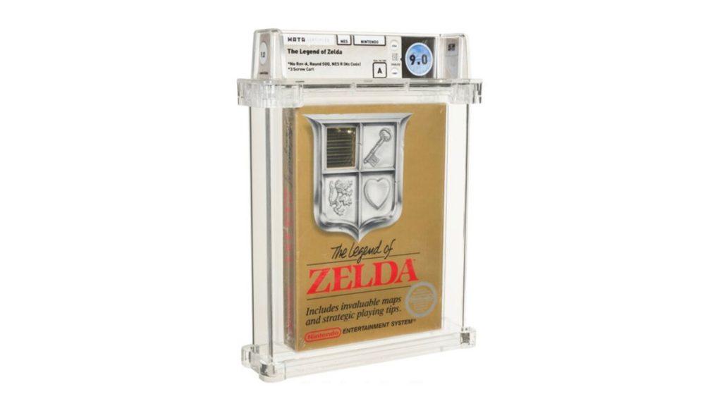 """""""Legend of Zelda"""" sbloccato per NES ottiene $ 870.000 all'asta"""