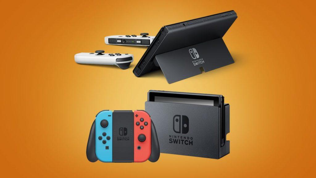 Nintendo Switch OLED vs Nintendo Switch: Nintendo Switch non fa 4K