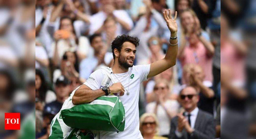 Tre cose sul finalista di Wimbledon Matteo Berrettini |  notizie sul tennis