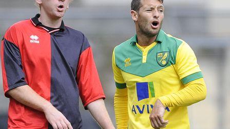 Astro vs Norwich City durante l'amichevole precampionato allo Stadio Piergiorgio Beroca, Usta Pec