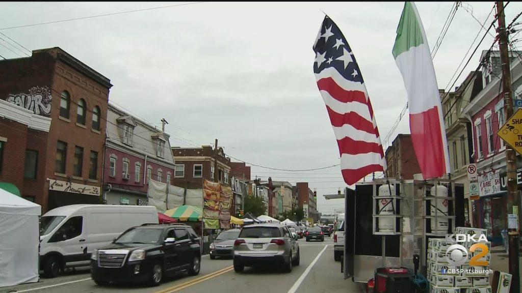 Gli imprenditori si rallegrano mentre i giorni di Little Italy tornano a Bloomfield - CBS Pittsburgh