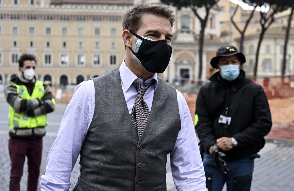 Rubata l'auto di Tom Cruise a Birmingham durante le riprese di Mission: Impossible 7