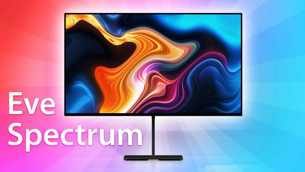 Allenati con il display Eve Spectrum 4K