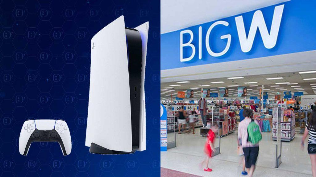 Big W PS5