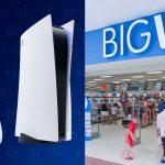 Le azioni PS5 di Big W sono finalmente in calo