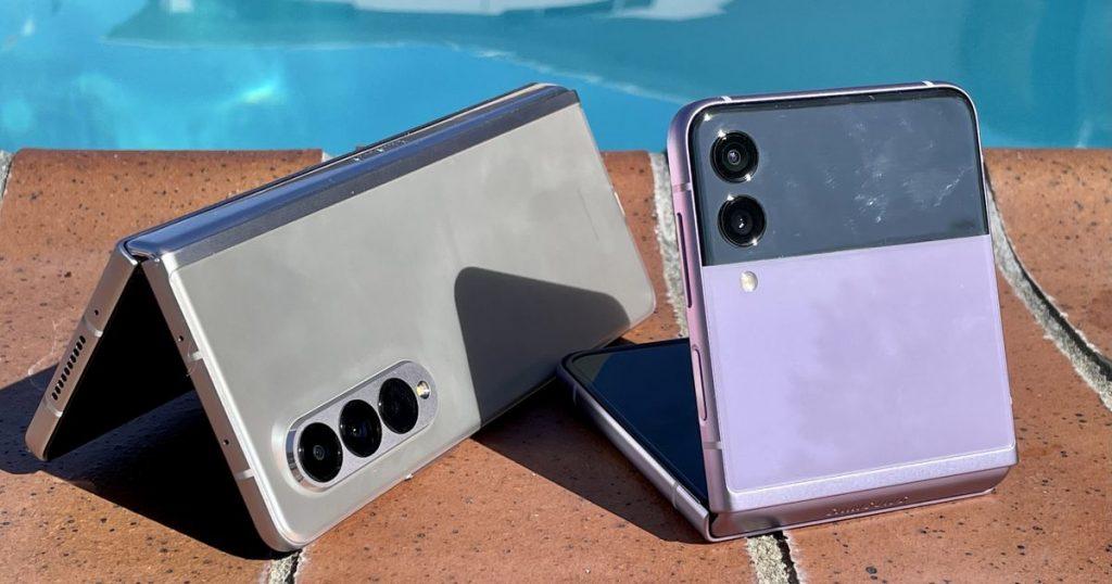 Galaxy Z Fold 3, test dell'acqua Z Flip 3: quanto possono andare in profondità?