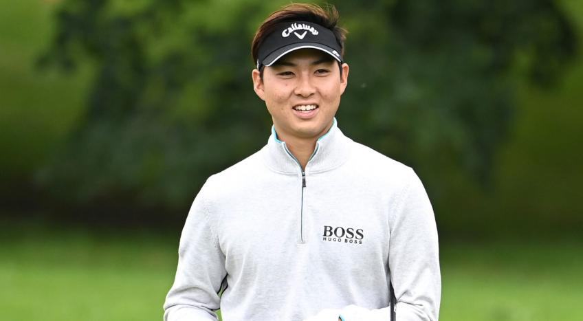 Min Woo Lee new leader at the Italian Open
