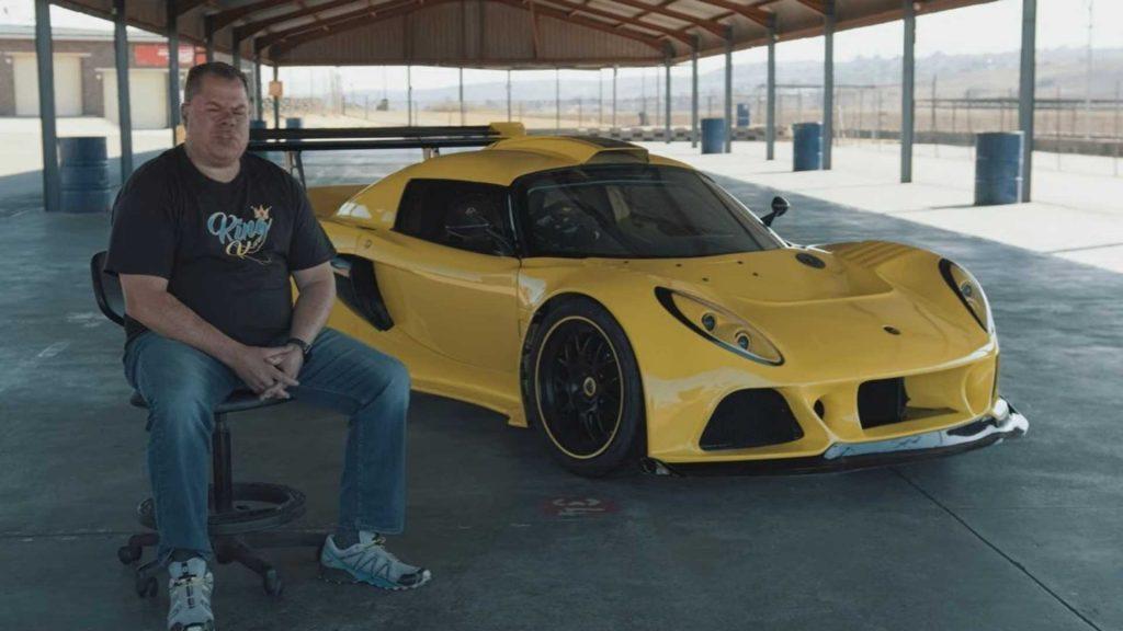 Lotus Exige con AMG V8 di Mercedes SLS Superb Bonkers