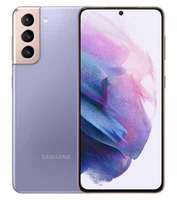 Parte anteriore e posteriore del Samsung Galaxy S21