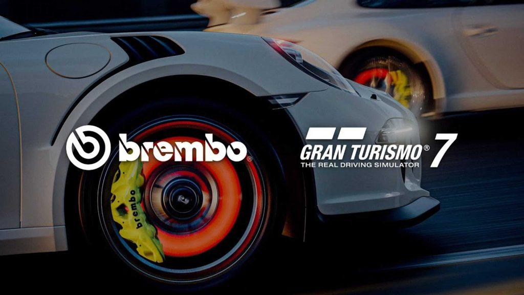 Le vetture Gran Turismo 7 sono dotate di freni Brembo con licenza ufficiale